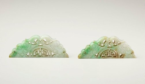 An image of A pair of ornaments by