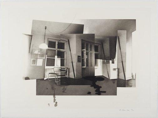 An image of Berlin interior by Richard Hamilton
