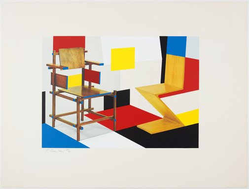 An image of Putting on de Stijl by Richard Hamilton