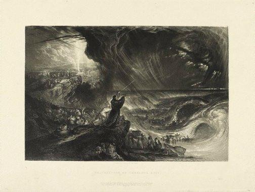 An image of Destruction of Pharaoh's Host by John Martin