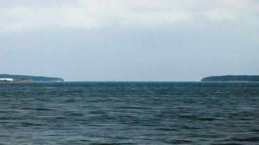 An image of Aqua/Bay #1 by Merilyn Fairskye
