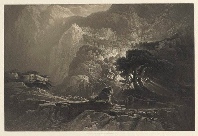 An image of Moses and the Burning Bush
