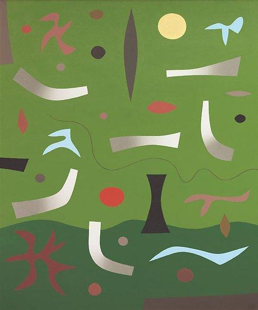 An image of Kuringai by John Coburn