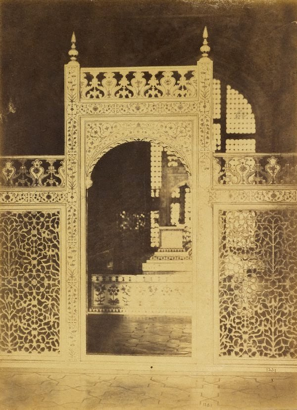 An image of A bound volume of 34 albumen silver prints