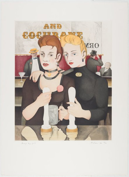 An image of Bronze by gold by Richard Hamilton