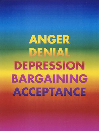 AGNSW collection David McDiarmid Anger denial depression bargaining acceptance (1994-1995) 368.1998.5
