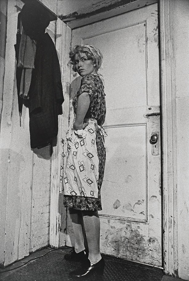 Untitled film still #35, (1979) by Cindy Sherman