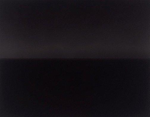 An image of Bass Strait, Lockard by Sugimoto Hiroshi