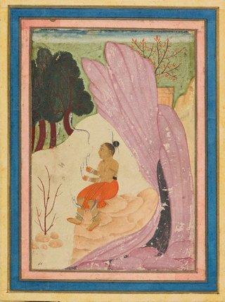AGNSW collection Asavari Ragini 17th century