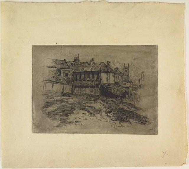 An image of Old house off Princes Street, The Rocks