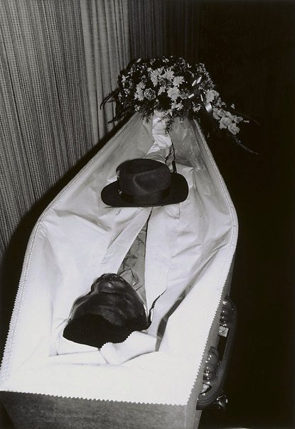 An image of Bob's funeral, Preston, Melbourne by Viva Jillian Gibb