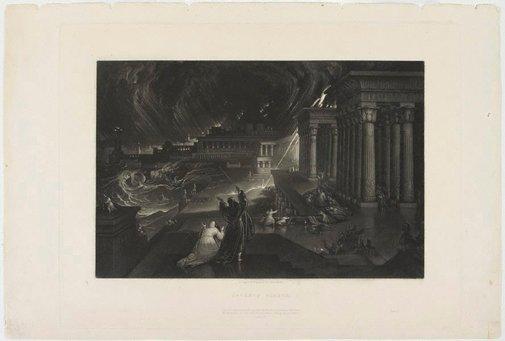 An image of Seventh Plague by John Martin