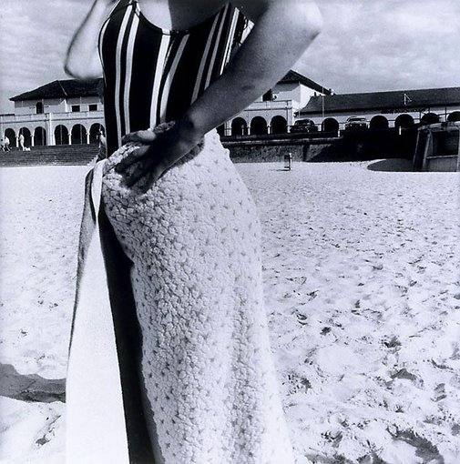 An image of Bondi Beach, Sydney, Australia, October 1975 by Fiona Hall
