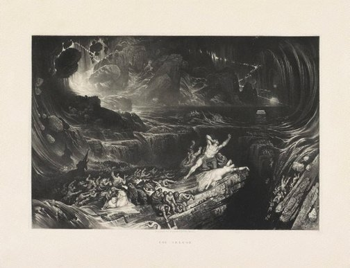 An image of The Deluge by John Martin