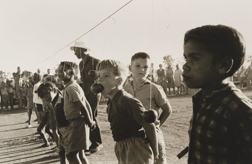 An image of Town picnic, Brewarrina by Mervyn Bishop