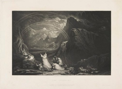 An image of The Covenant by John Martin
