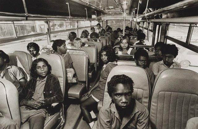 An image of School bus, Yarrabah