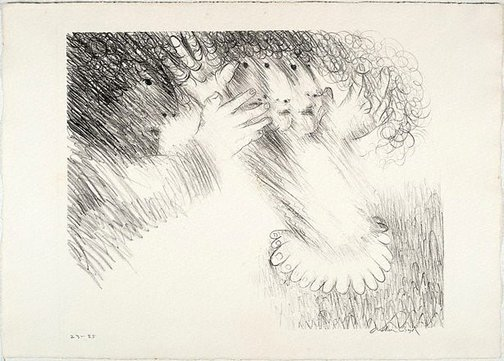 An image of St Francis makes Brother Masseo turn round and round by Arthur Boyd