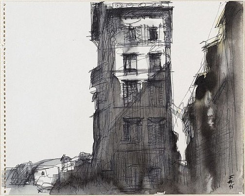 An image of (Italian building) by Frank Hodgkinson