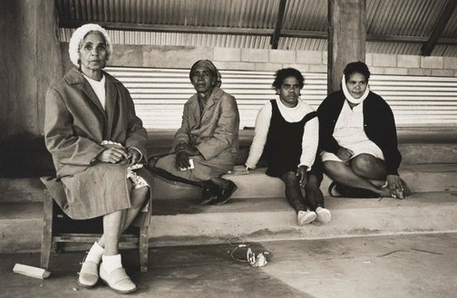 An image of Womenfolk, Bowraville by Mervyn Bishop
