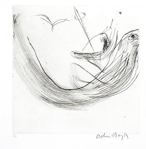 An image of The wave by Arthur Boyd
