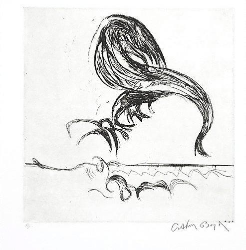An image of Arcbird by Arthur Boyd