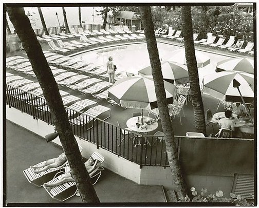 An image of Waikiki, Hawaii, November 1982 by Fiona Hall
