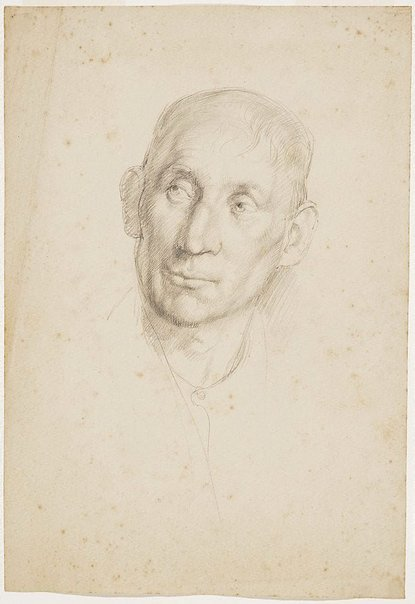 An image of Head study, London by Nora Heysen