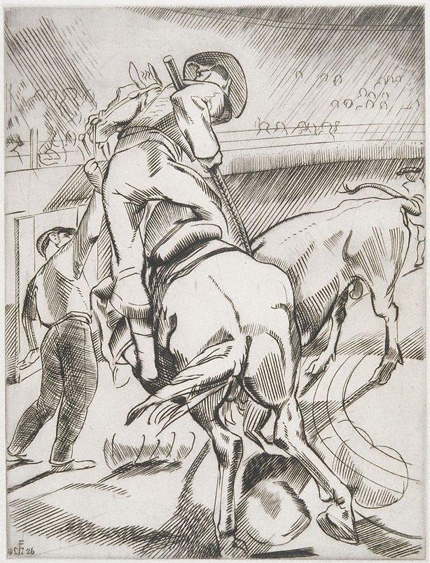 An image of (Bullfighting No. 1)