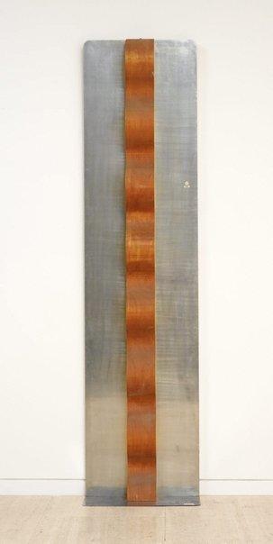 An image of Reflector column, Riverrun by Joe Tilson