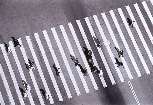 An image of Pedestrian crossing, Circular Quay, Sydney by David Moore
