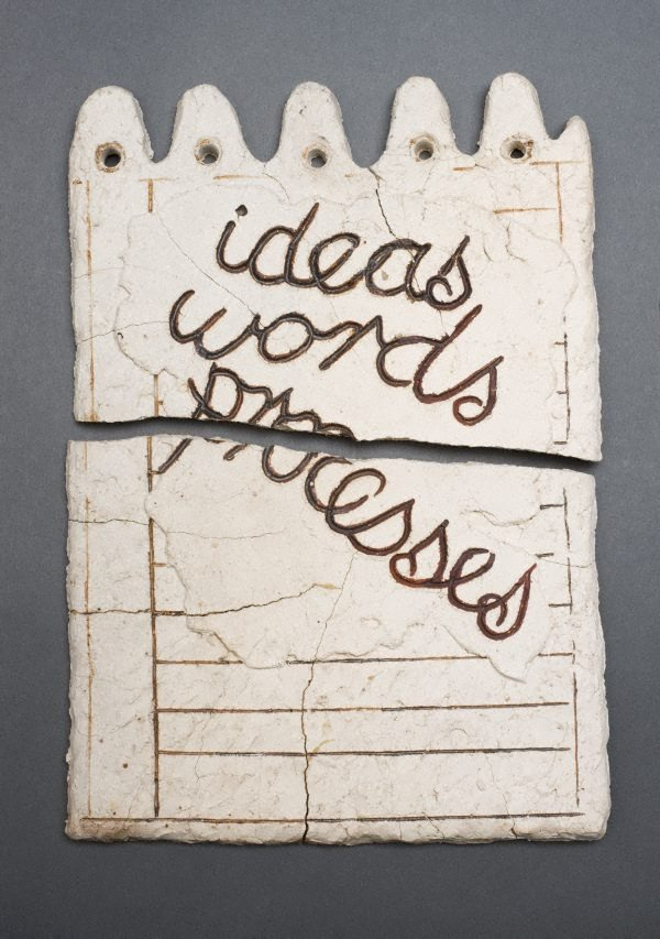 An image of ideas, words, processes
