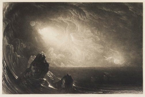 An image of The Creation by John Martin