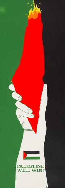 An image of Palestine will win by Chips Mackinolty
