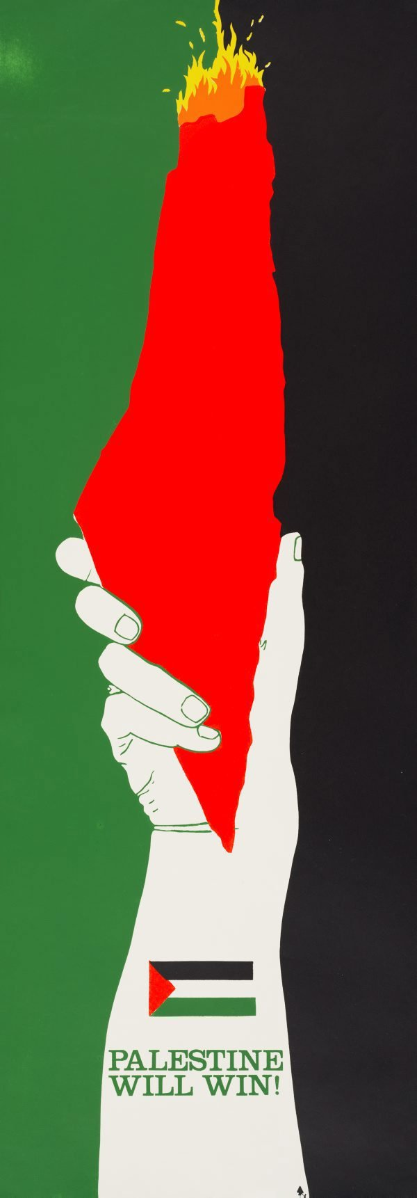 An image of Palestine will win