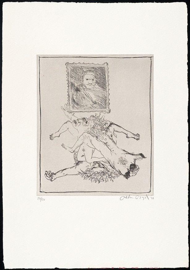 An image of (Illustration for Peter Stark's poem 'Ancestors')