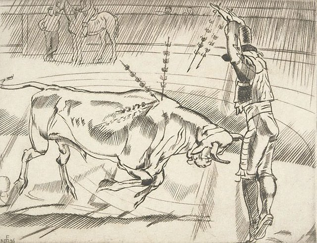 An image of (Bullfighting No. 3)