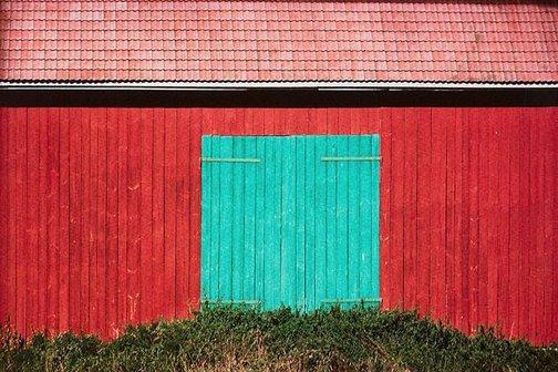 An image of Barn door, Finland by David Moore