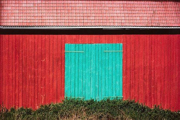 An image of Barn door, Finland