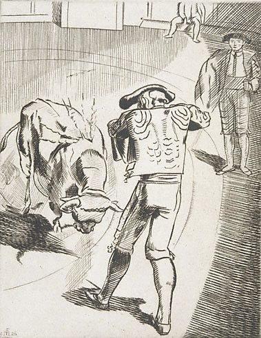 An image of (Bullfighting No. 4)