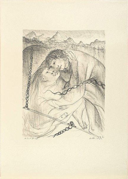 An image of (Illustration for Pushkin's Fairy Tales, p.79) by Arthur Boyd