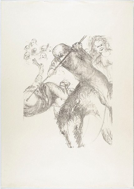 An image of (Illustration for Pushkin's Fairy Tales, p.27) by Arthur Boyd
