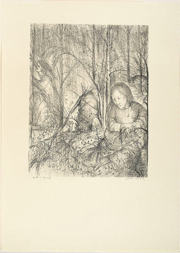 An image of (Illustration for Pushkin's Fairy Tales p.61)