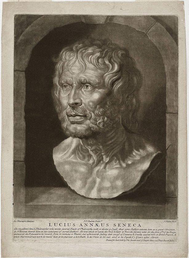An image of Bust of Seneca
