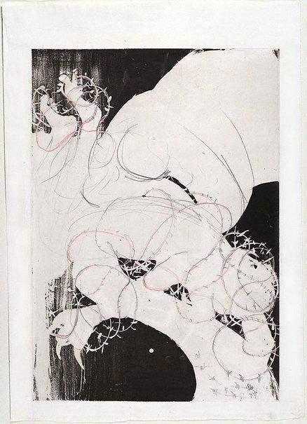 An image of (Illustration for Peter Porter's poem 'Intermezzo') by Arthur Boyd