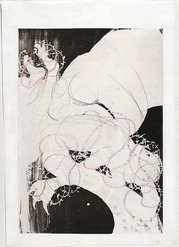 An image of (Illustration for Peter Porter's poem 'Intermezzo')