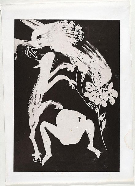 An image of (Illustration for Peter Porter's poem 'Narcissus as critic') by Arthur Boyd