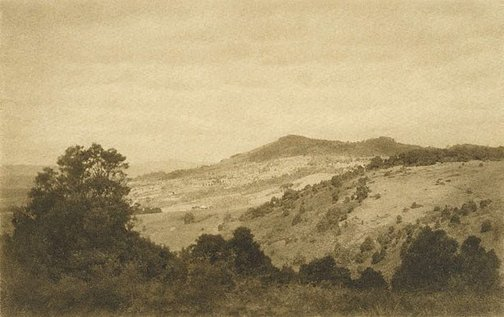 An image of Landscape, Robertson by Richard V Simpson