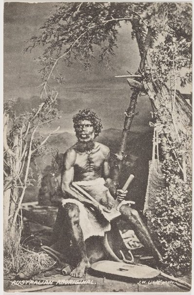 An image of Australian Aboriginal by J W Lindt