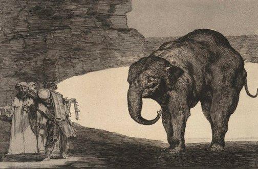 An image of Animal folly (Disparate de bestia) by Francisco de Goya Y Lucientes